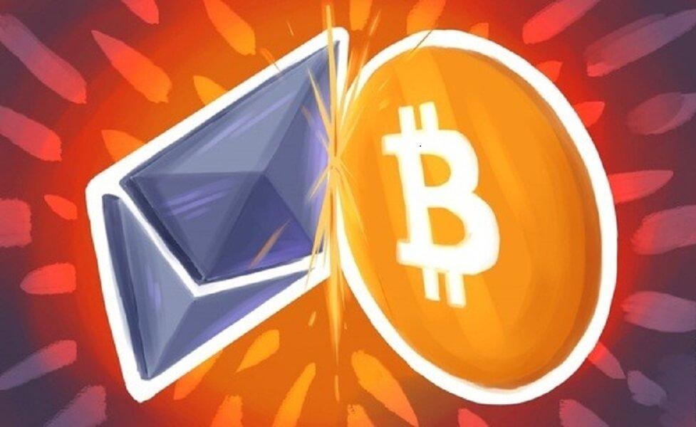 ethereum vs bitcoin geresns investicijos
