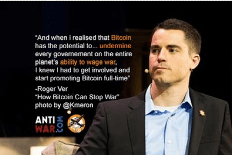 Top cryptocurrency influencers Roger Ver