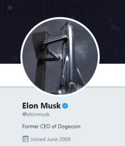 dogecoin and elon musk