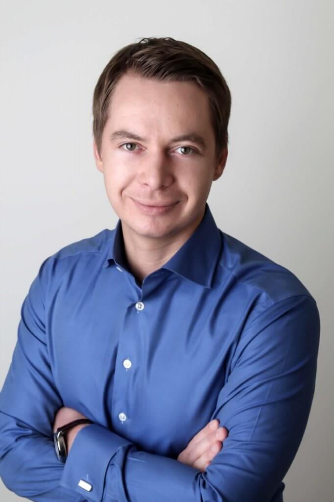 Pavel Mateev, co founder of Wirex