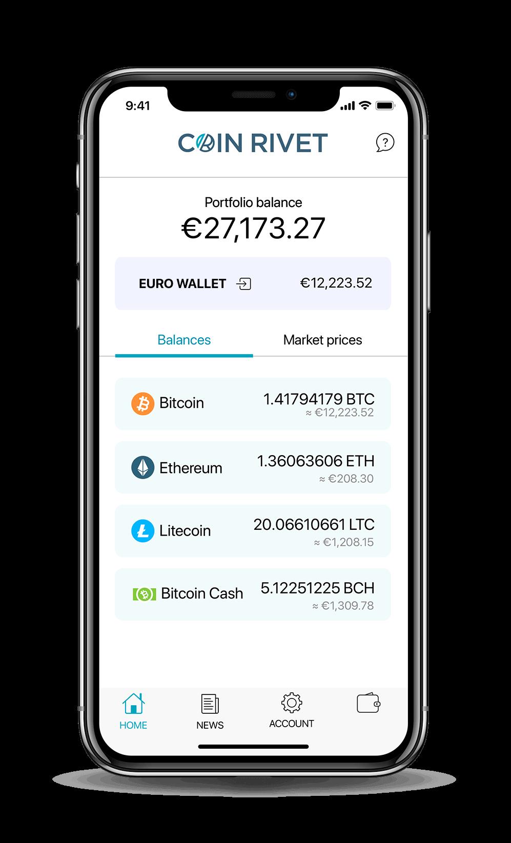 Coin Rivet App Screenshot